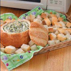 Creamy Swiss Spinach Dip Taste of Home Quick Cooking Home Recipes, Dip Recipes, Cooking Recipes, Cooking Ideas, Beef Recipes, Food Ideas, Creamy Spinach Dip, Creamed Spinach, Taste Of Home
