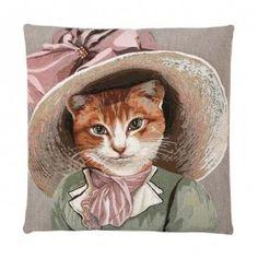 Cojín Lady Cats Nº2 con relleno