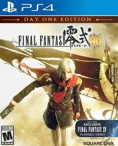 Final Fantasy Type-0 HD unveiled