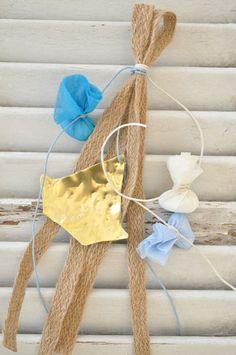 Μπομπονιέρα vintage κρεμαστή (vx109) Clothes Hanger, Burlap, Reusable Tote Bags, Events, Weddings, Sweet, Vintage, Coat Hanger, Candy