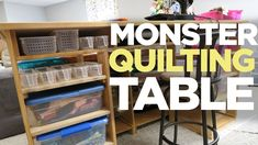A Quilting Table 10 YEARS in the Making!  Makers on the Move Ep. 2