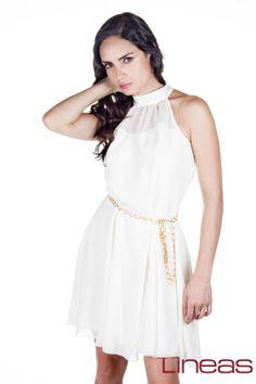 Modelo 17738. Precio $300 MXN #Lineas #outfit #moda #tendencia #2014 #ropa #prendas #estilo #outfit #vestido