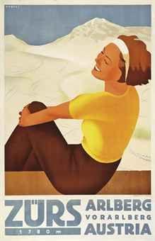 Christie's 'The Ski Sale': Record prices for vintage ski posters St Anton, Vintage Ski Posters, Stations De Ski, Railway Posters, Ski Holidays, Ski Fashion, Sale Poster, Winter Sports, Poster