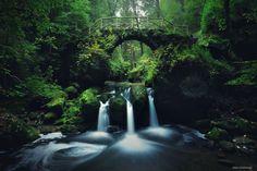 Triple Falls | by Kilian Schöenberger | via 500px