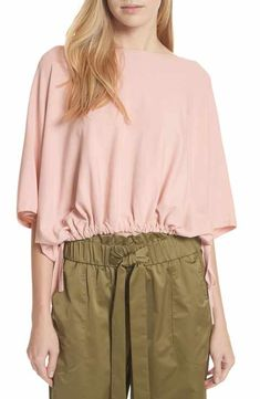 e02323884f6 Milly Dolman Sleeve Top Off Shoulder Blouse