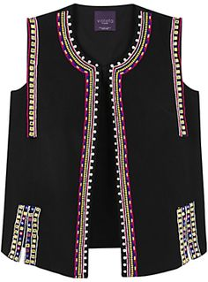 ShopStyle: Search and find the latest in fashion Shop for Embroidered Cotton Gilet, Black by Violeta BY MANGO at ShopStyle. Now for Sold Out. Mango Shoes, Crochet Shirt, Cotton Style, Dress Patterns, Blouse Designs, Boho Fashion, Casual Outfits, Shopping, Black Cotton