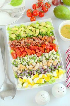 Sałatka Cobb Cobb Salad, Tea Party, Food And Drink, Keto, Cooking, Breakfast, Recipes, Impreza, Success