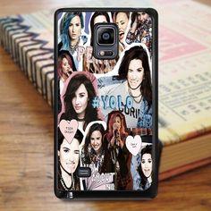 Demi Lovato Yolo Collage Samsung Galaxy Note Edge Case