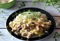Filet z kurczaka w sosie porowym – Smaki na talerzu Potato Salad, Potatoes, Chicken, Meat, Ethnic Recipes, Food, Potato, Essen, Meals