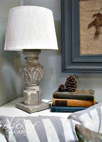 Lamp From a Broken Tableleg - step by step Photo tutorial - Schritt für Schritt Bildanleitung