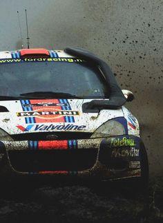 Colin McRae / Nicky Grist Autos Rally, Rally Car, Classic Sports Cars, Classic Cars, Sport Cars, Race Cars, Ford Focus Svt, Rallye Wrc, Subaru Rally