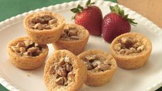 If you don't know what a tassie is, try these delightful little mouthfuls, and you won't soon forget!  Each is baked with a sweet center of brown sugar, butter, corn syrup and chopped pecans for a uniquely nutty cookie taste.