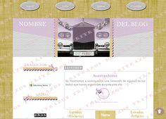 """""""Diseño de blog"""" en venta - Ref. """"Bodas3"""""""