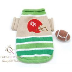 Oscar Newman Monday Night Football Sweater with Toy