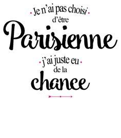 personnaliser tee shirt Parisienne