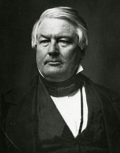 A portrait of #President Millard Fillmore (1800–1874) 13th President of the United States (July 9, 1850 through March 4, 1853) Whig