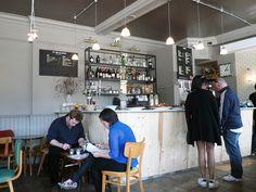 Broadway Market cafe, London   #cafe #coffeeshop