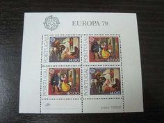 Portugal EUROPA 1979 mnh SS