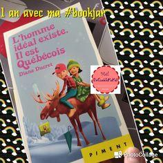 #1AnAvecMaBookJar Janvier L'homme idéal existe. Il est Québécois Diane Ducret #BookJar #book #Lecture *** Voilà ma première lecture du challenge #1AnAvecMaBookJar est terminée J'ai effe…