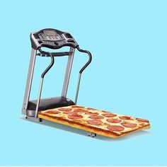 run for the pizza!