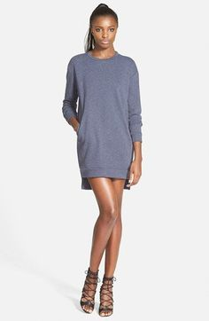 GLAMOROUS Sweatshirt Tunic Dress (Online Only) available at #Nordstrom Sale: $38.90 After Sale: $59.00 	Item #1013447