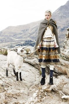 alpine fashion edit from Vogue Australia