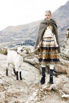 alpine fashion edit from Vogue Australia
