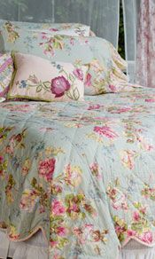 Bed linens, quilts, sheets and duvets in April Cornell's famous nature-inspired patterns!