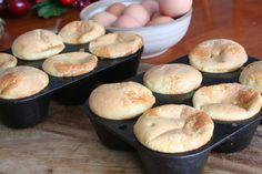 Popovers (Dairy, Gluten/Grain and Refined Sugar Free)