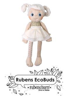 Rubens Barn Økologisk Dukke - Daisy - Fra 0 år.