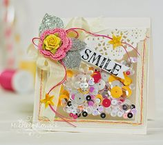 Michele Kovack: Thoughts of a Cardmaking Scrapbooker!: Shaker Card - 8/10./14