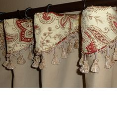 Wow i love these! will def be in a future project....Cuff Top Drapery Panels