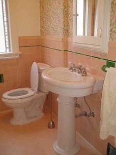 63 Best 1940 S Bathroom Images Bathroom Remodeling