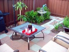 Small Patio Makeover - Patios & Deck Designs - Decorating Ideas - HGTV Rate My Space