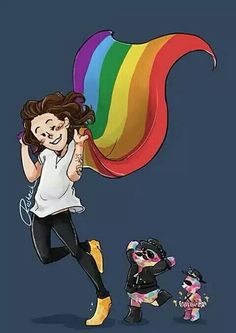 Harry Styles + RBB + SBB Fanart || THIS IS THE THE CUTEST THING EVER @starrybeauty