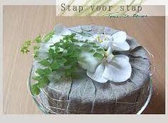 Afbeeldingsresultaat voor bloemschikken zilver