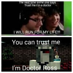 Doctor Ross is pretty Rossome at heart transplants. You can barley tell I don't have a heart! Oh... Oh, okay... Good bye... No regrets...