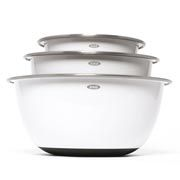 OXO Mixing Bowls #giveaway ~~ never seen Bowls quite like these; might solve my BUTTER-Fingers probs!! ^^HugKissHug^^