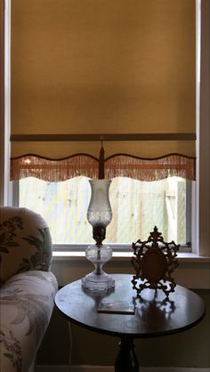 Scalloped Spring Roller Shade Old Fashioned Roller