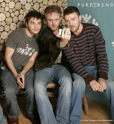 Emile Hirsch, Ben Foster & Justin Timberlake in Alpha Dog