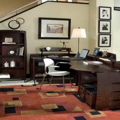 Cool Home Office Desk Ideas