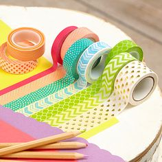 The Wonders of Washi Tape