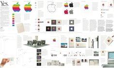 Rediscovering the Apple Corporate Identity Guidelines Notebook is a must read if you have any kind of interest in Apple as a company. Brand Identity Design, Branding Design, Logo Design, Graphic Design, Corporate Style, Corporate Branding, Logo Guidelines, Apple Brand, Brand Style Guide