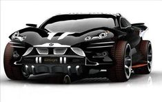 BMW X9 I foresee James Bond driving this with guns on it