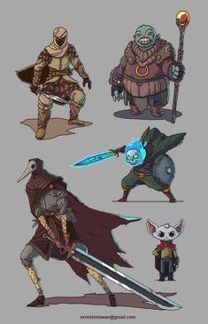Concept art character design cartoon ideas for 2019 Game Character Design, Character Design References, Fantasy Character Design, Character Design Inspiration, Character Concept, Character Art, Monster Characters, Dnd Characters, Fantasy Characters