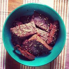 #Gluten-freier #Brownie aus Bohnen // #Black #Bean #Brownie #glutenfree #recipe #rezept #healthy #gesund #eatclean