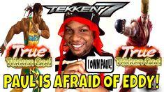 PAUL IS AFRAID OF EDDY! (Tekken 7 Season 3)- Eddy Gordo Gameplay matches... Tekken 7, Season 3, Gaming, Youtube, Videogames, Games, Game, Toys, Youtubers