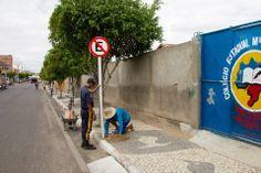 HORA DA VERDADE: ATUALIDADE: SMT de Riachão do Jacuípe instala plac...