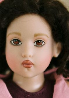 Helen Kish 14-inches Raven Cheeky 2008 vinyl doll with factory paint