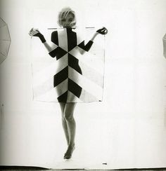 stripes + marilyn